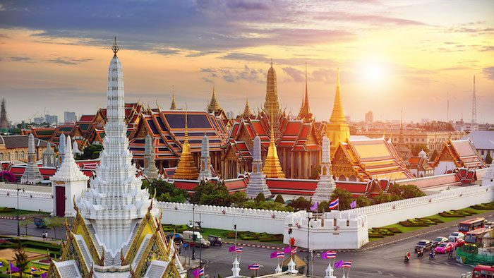 Bangkok látkép