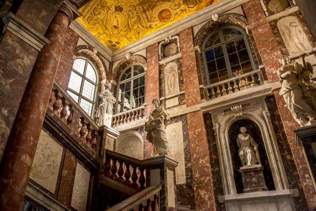 Drottningholm palota belső